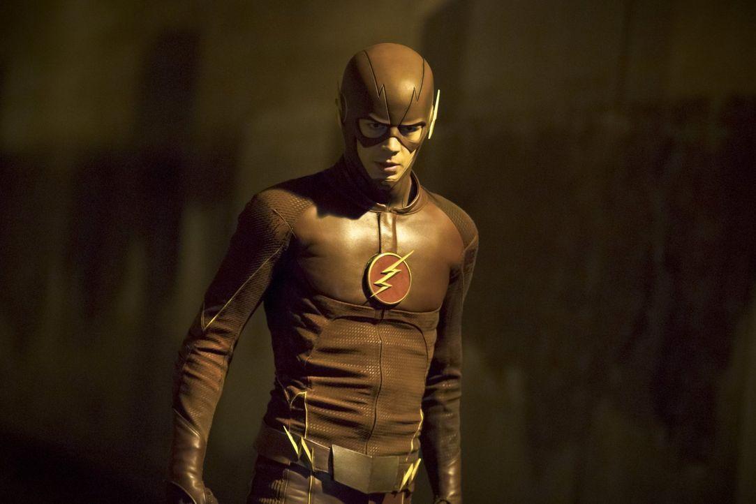 Ein neues Metawesen treibt in Central City sein Unwesen. Barry alias The Flash (Grant Gustin) und sein Team nehmen den Kampf auf ... - Bildquelle: Warner Brothers.