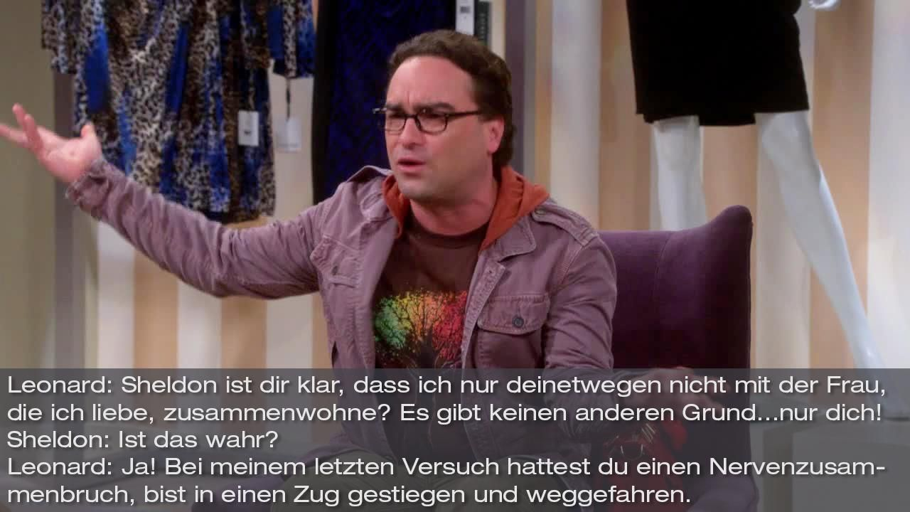 Zitate The Big Bang Theory Staffel 8 Folge 12 Bild1 - Bildquelle: Warner Bros. Television