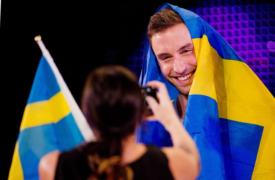 European-Song-Contest-ESC-Mans-Zelmerloew-150523-2-dpa - Bildquelle: dpa