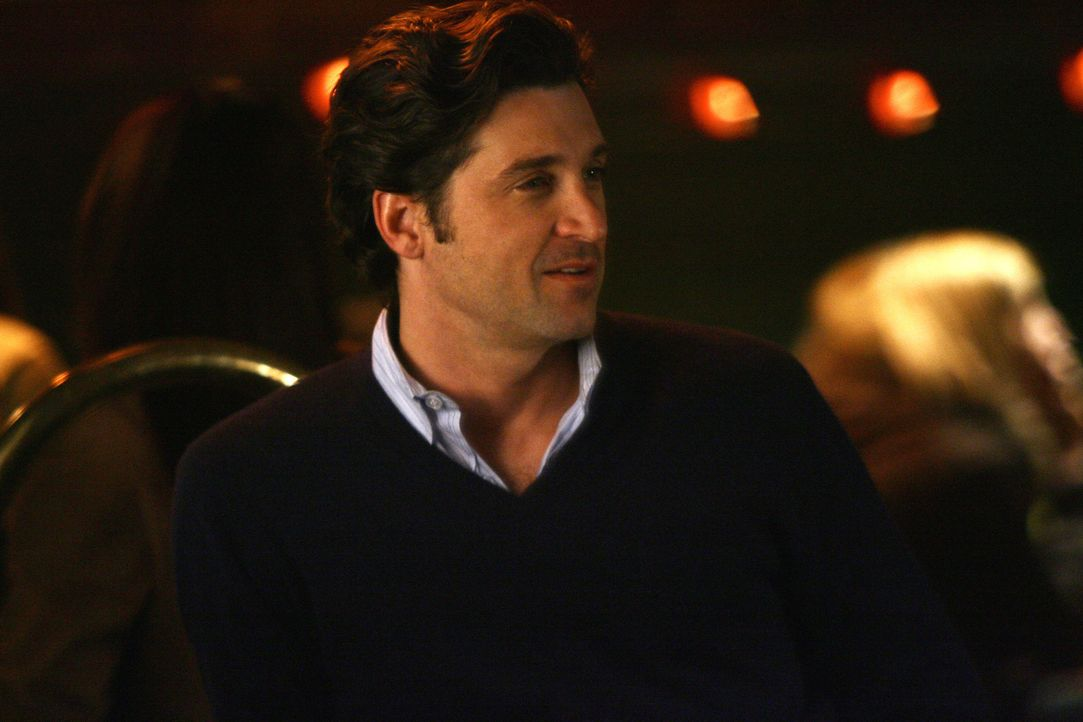 Fühlt sich geschmeichelt von Lexie: Derek (Patrick Dempsey) ... - Bildquelle: Scott Garfield 2007 American Broadcasting Companies, Inc. All rights reserved. NO ARCHIVE. NO RESALE.