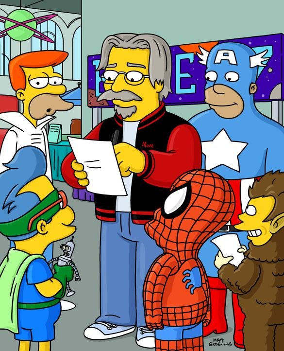 Matt Groening - Bildquelle: 2003 Fox and its related entities.  All rights reserved.