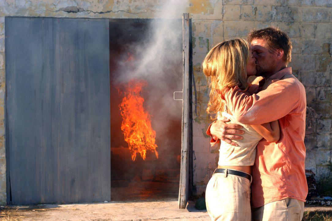 Endlich glücklich vereint: Lynn (Brandy Ledford, l.) und Anthony (Doug Savant, r.) ... - Bildquelle: Regent Productions