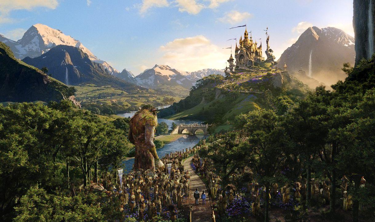 """In einem nahe gelegenen Wald schaffen sich Jess und Leslie eine Phantasiewelt, die sie """"Terabithia"""" nennen. Ein magisches Königreich voller Fabelwe... - Bildquelle: 2006 Constantin Film, München"""