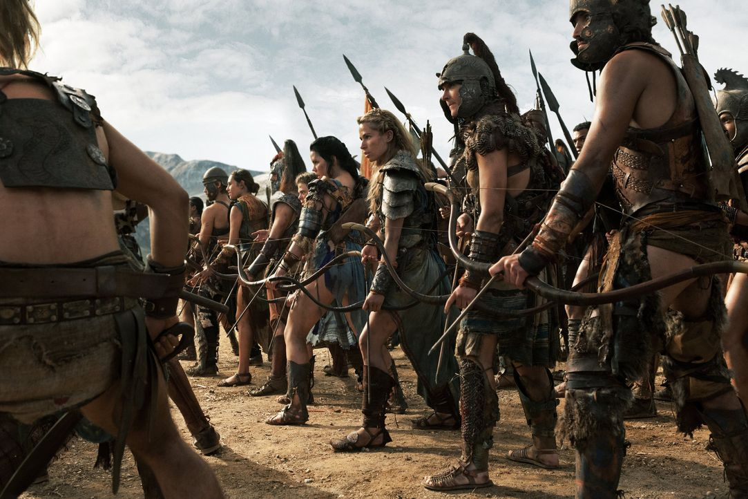 Spartacus beschließt, gegen Crassus' Heer zu ziehen, um entweder diesen zu töten oder selbst im Kampf zu sterben. Doch gegen die übermächtigen Gegne... - Bildquelle: 2012 Starz Entertainment, LLC. All rights reserved.