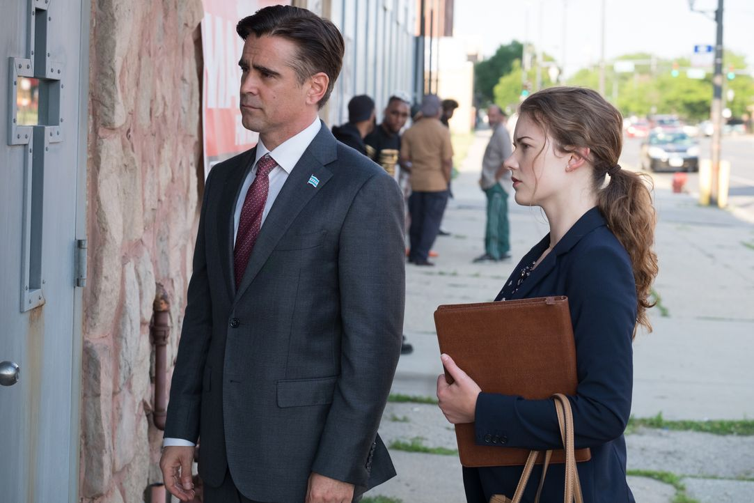 Jack Mulligan (Colin Farrell, l.); Siobhan (Molly Kunz, r.) - Bildquelle: Merrick Morton 2018 Twentieth Century Fox Film Corporation.  All rights reserved. / Merrick Morton
