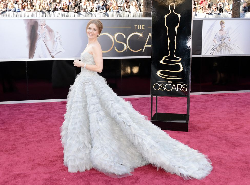 oscar-2013-roter-teppichamyadamsjpg - Bildquelle: AFP / GETTY IMAGES NORTH AMERICA