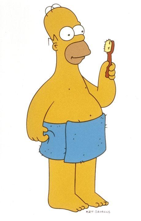 (11. Staffel) - Der alles andere als perfekte Homer Simpson. - Bildquelle: und TM Twentieth Century Fox Film Corporation - Alle Rechte vorbehalten