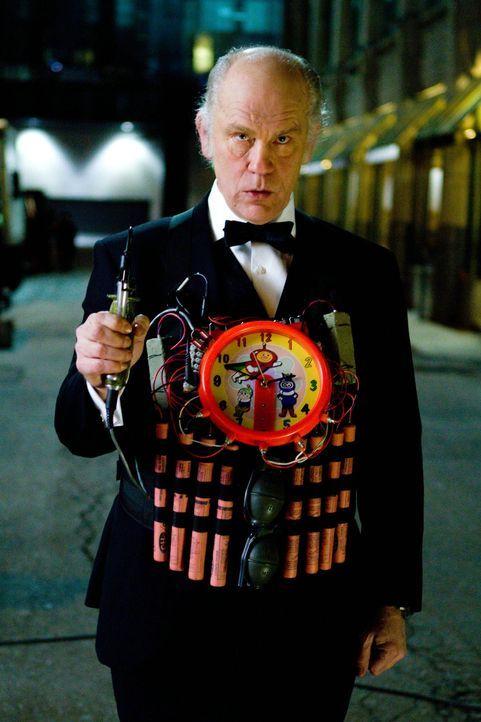 Durchgeknallt: Ex-CIA Agent Marvin Boggs (John Malkovich) ... - Bildquelle: 2010 Concorde Filmverleih GmbH