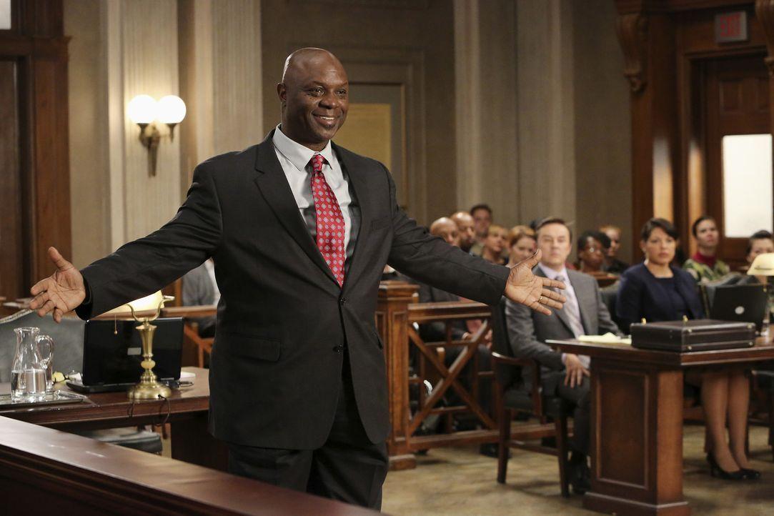Vor Gericht nimmt der Anwalt der Gegenseite, Hamilton (Robert Ray Wisdom), kein Blatt vor den Mund. Er will den Fall um jeden Preis gewinnen ... - Bildquelle: ABC Studios