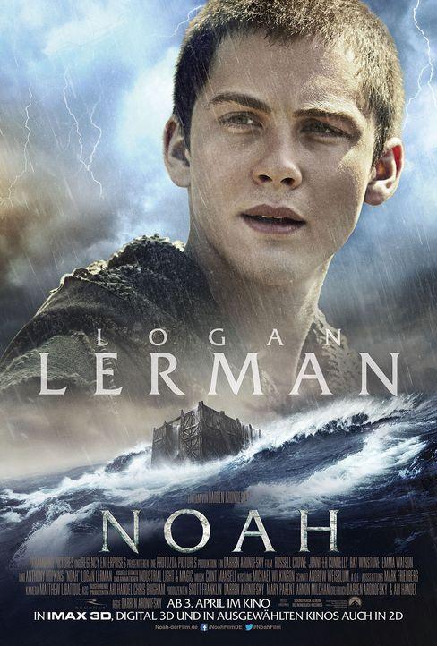 Noah Character Poster Logan Lerman - Bildquelle: Paramount