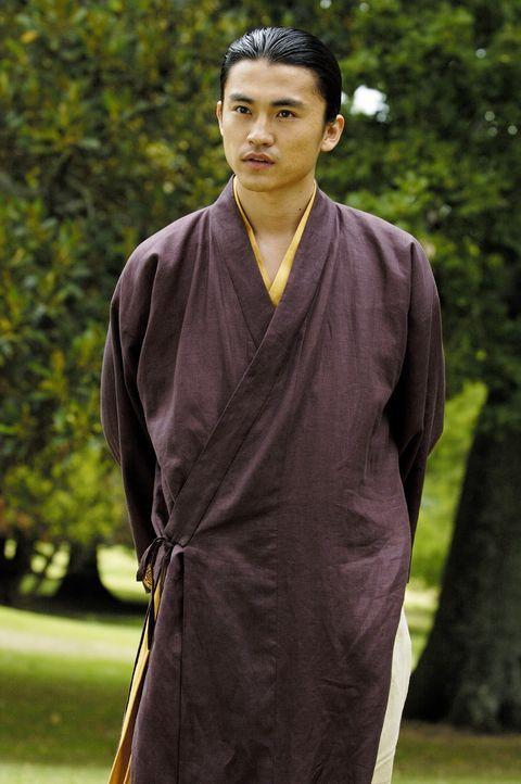 Behauptet Wendy Wu sei eine Reinkarnation einer uralten Kriegerin: Mönch Shen (Shin Koyamada) ... - Bildquelle: Buena Vista International Television