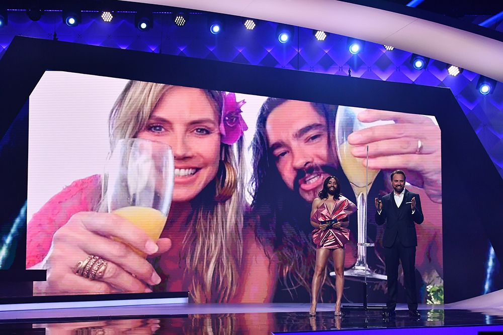 Punktevergabe, Heidi Klum, Tom Kaulitz
