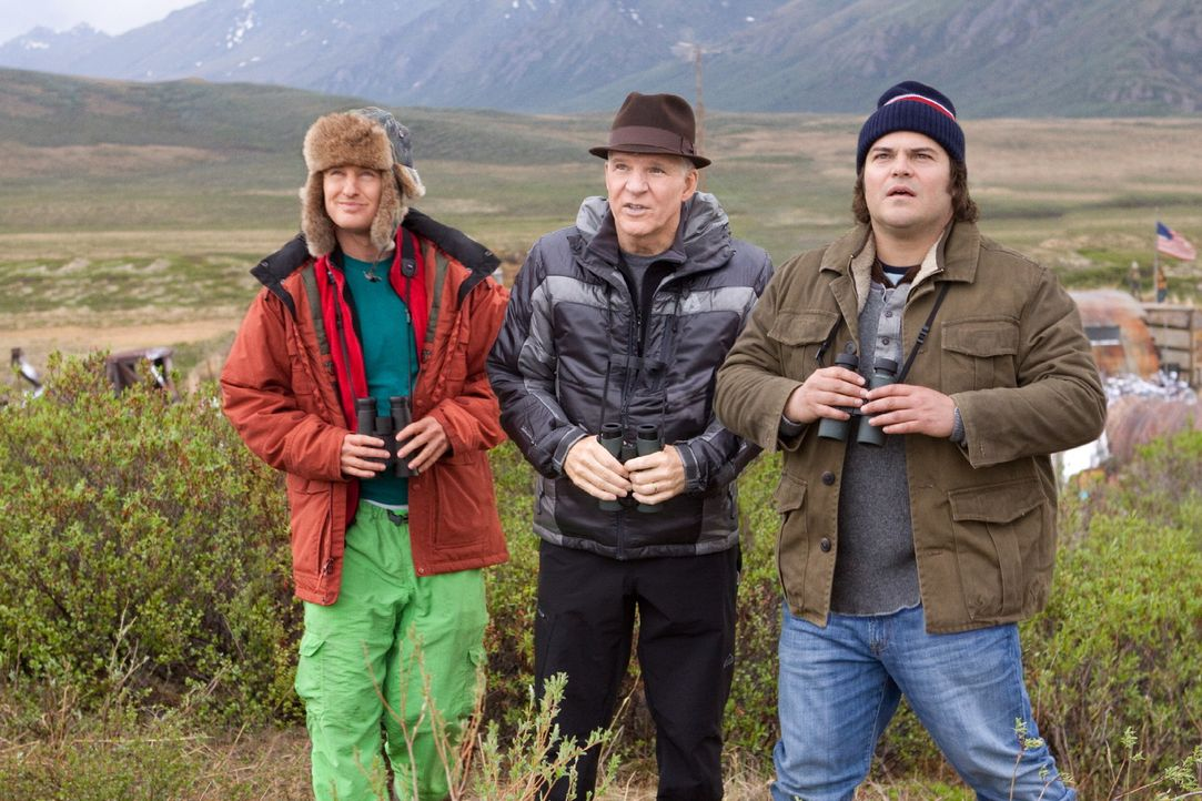 Ein ganz besonderes Team: Kenny (Owen Wilson, l.), Stu (Steve Martin, r.) und Brad (Jack Black, M.) ... - Bildquelle: 2011 Twentieth Century Fox Film Corporation. All rights reserved.