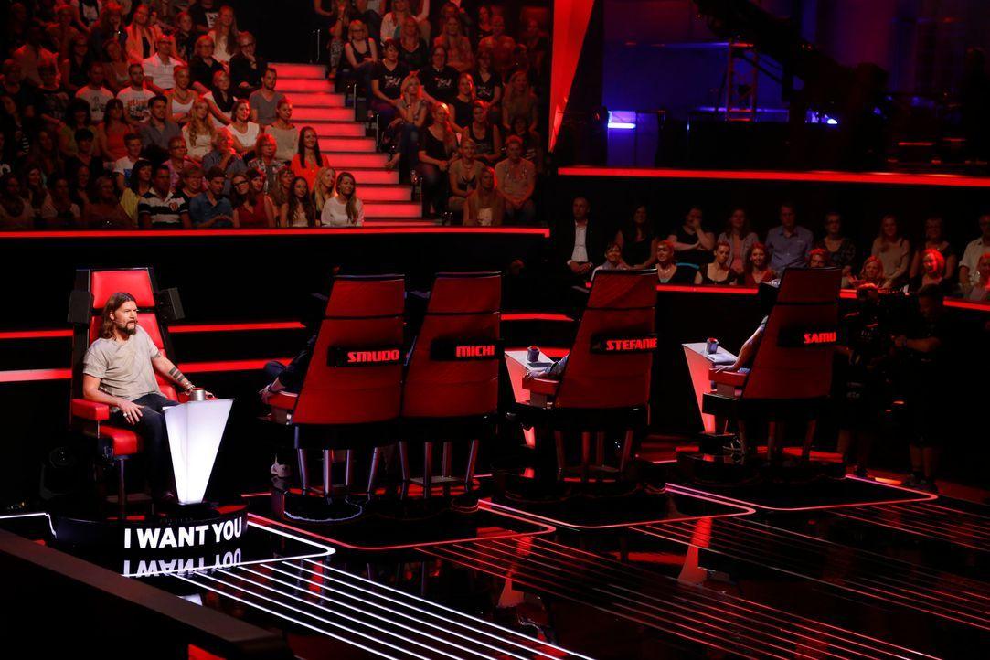 Rea Garvey ist zurück und will in den Blind Auditions mögliche viele Talents abstauben ... - Bildquelle: Richard Hübner SAT.1/ProSieben
