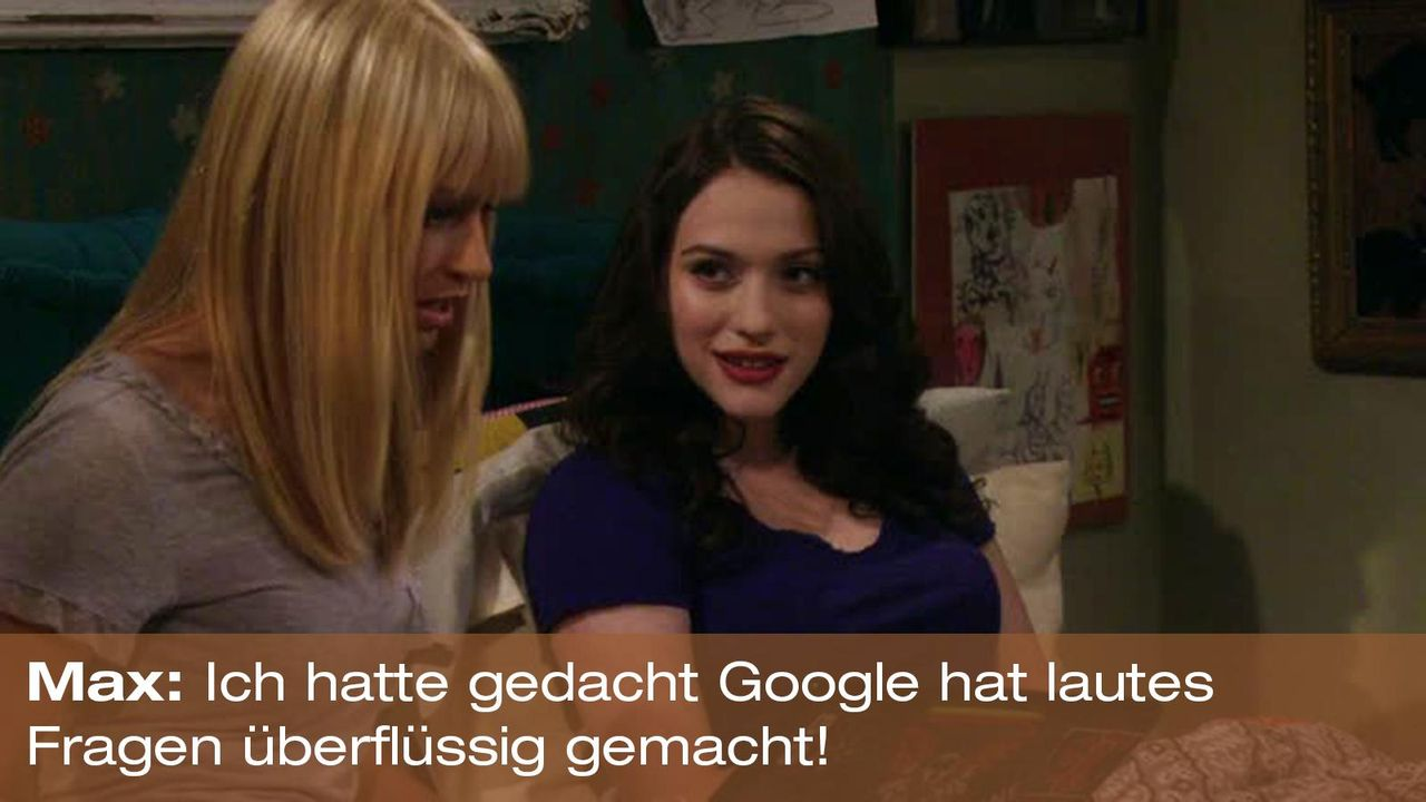 2-broke-girls-zitat-quote-staffel2-episode4-cupcake-wars-max-google-warnerpng 1600 x 900 - Bildquelle: Warner Brothers Entertainment Inc.