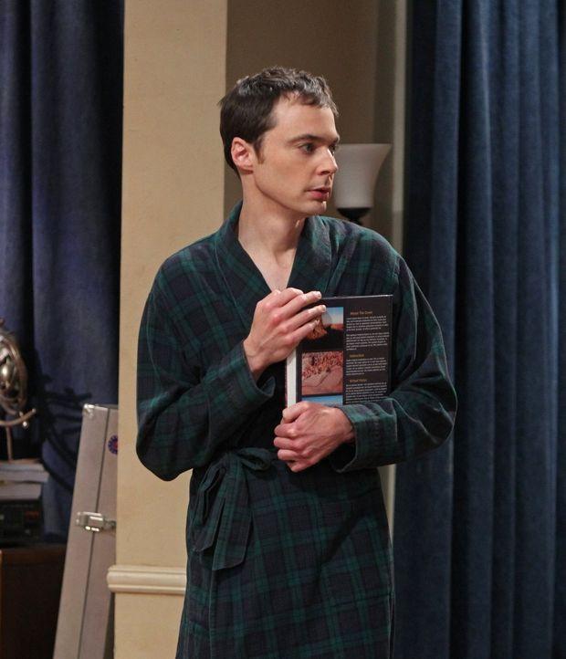 Befindet sich in einer persönlichen Krise: Sheldon (Jim Parsons) ... - Bildquelle: Warner Brothers