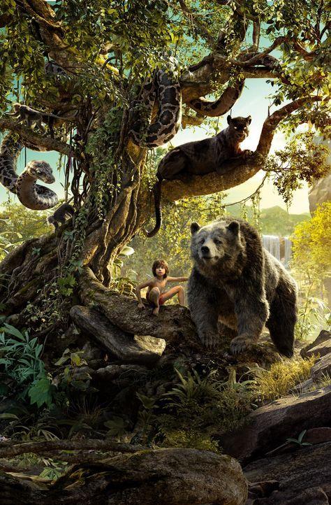 The Jungle Book - Artwork - Bildquelle: Disney Enterprises, Inc. All Rights Reserved.