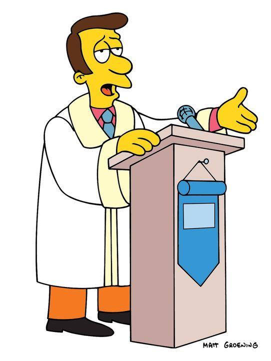 (14. Staffel) - Der Priester von Springfield, Timothy Lovejoy, steht immer wieder vor dem Problem, seine Schäfchen in Zaum zu halten ... - Bildquelle: und TM Twentieth Century Fox Film Corporation - Alle Rechte vorbehalten