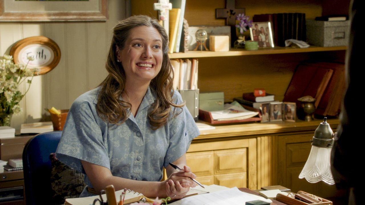 Mary Cooper (Zoe Perry) - Bildquelle: 2020 Warner Bros. Entertainment Inc. All Rights Reserved.