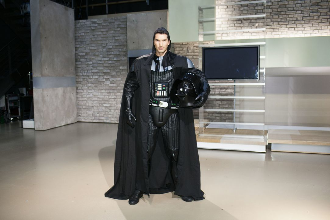 Dart-Vader-Kostüm - Bildquelle: ProSieben/Benedikt Müller
