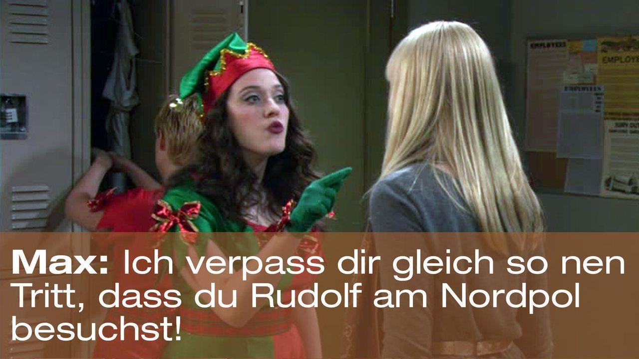 2-broke-girls-episode-12-elfen-terror-weihnachts-max-rudolf-nordpol-warnerjpg 1600 x 900 - Bildquelle: Warner Brothers Entertainment Inc.