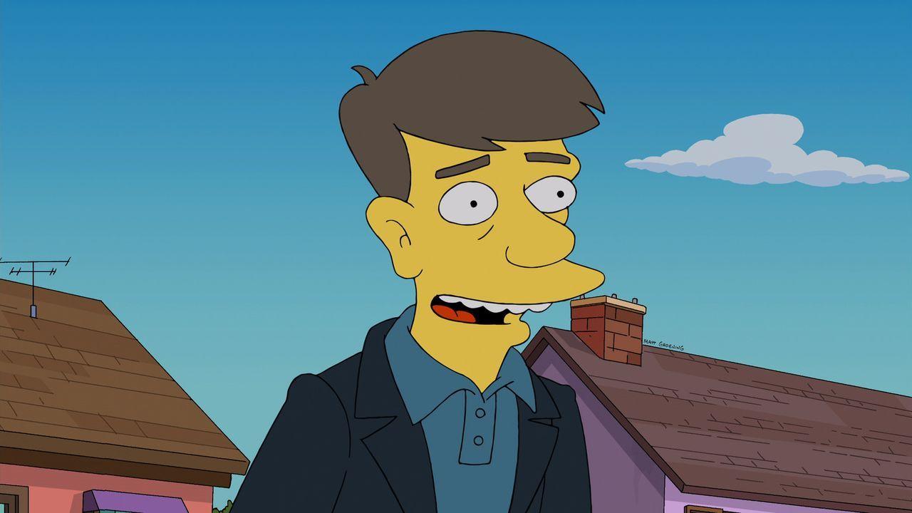Der neue Nachbar der Simpsons und seine Familie stammen aus London. Marge ist entzückt und nimmt eine Einladung zu einem Spieleabend gerne an. Sie m... - Bildquelle: 2013 Twentieth Century Fox Film Corporation. All rights reserved.