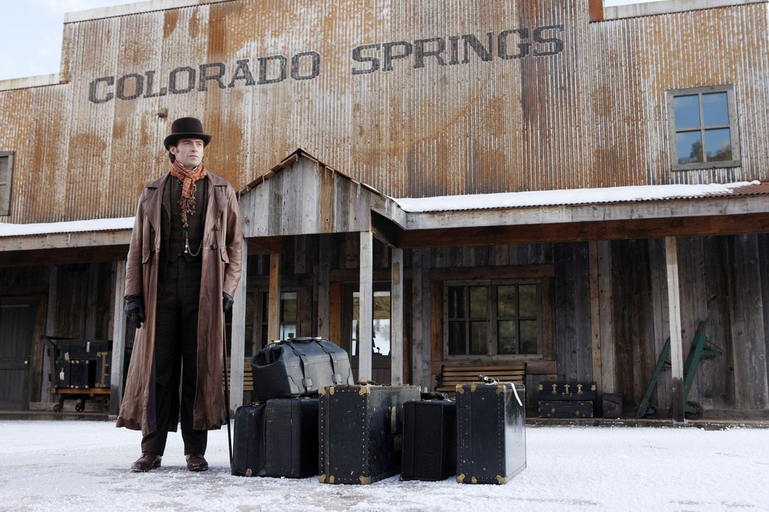 Erhofft sich großen Erfolg als Magier: Robert Angier (Hugh Jackman) ... - Bildquelle: Warner Television