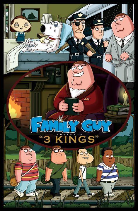 """In der heutigen Folge werden drei Stephen-KingRomane  à la """"Family  Guy"""" serviert. - Bildquelle: 2006-2007 Twentieth Century Fox Film Corporation. All rights reserved."""