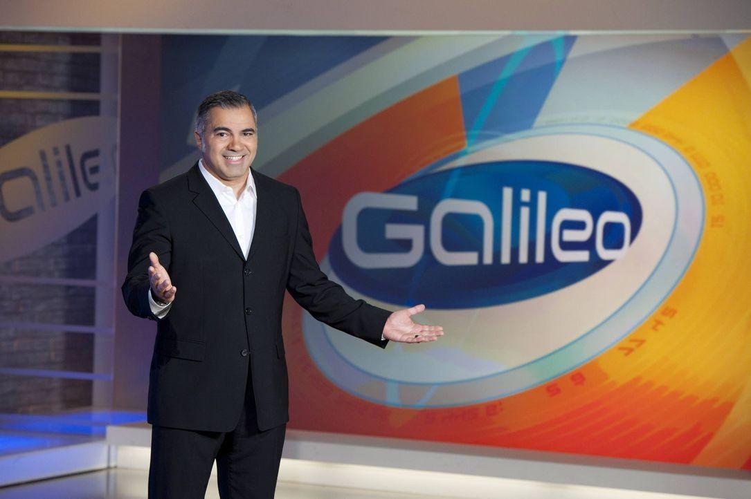 """""""Galileo"""" das Wissensmagazin wird von Aiman Abdallah präsentiert. - Bildquelle: Stephan Görlich ProSieben"""