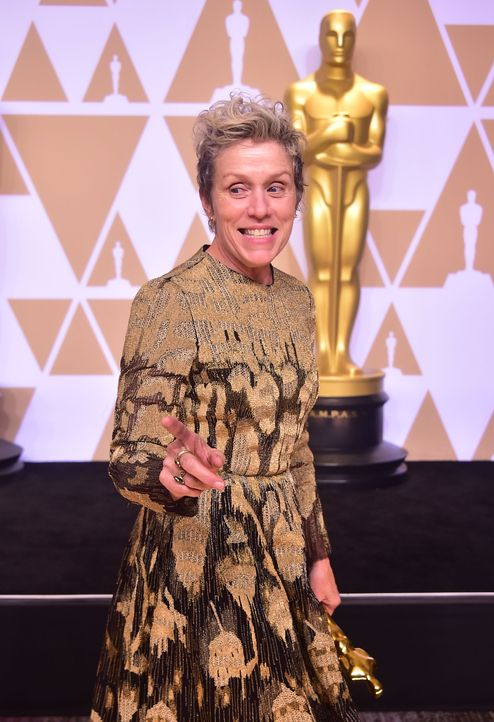 Frances-McDormand2-AFP - Bildquelle: AFP PHOTO / FREDERIC J. BROWN