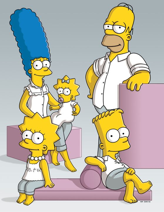 (20. Staffel) - Tag für Tag geraten die Simpsons in Situationen, die alles von ihnen oder ihrer Umgebung abfordert: Marge (hinten l.), Lisa (vorne l... - Bildquelle: 2008-2009 Twentieth Century Fox Film Corporation