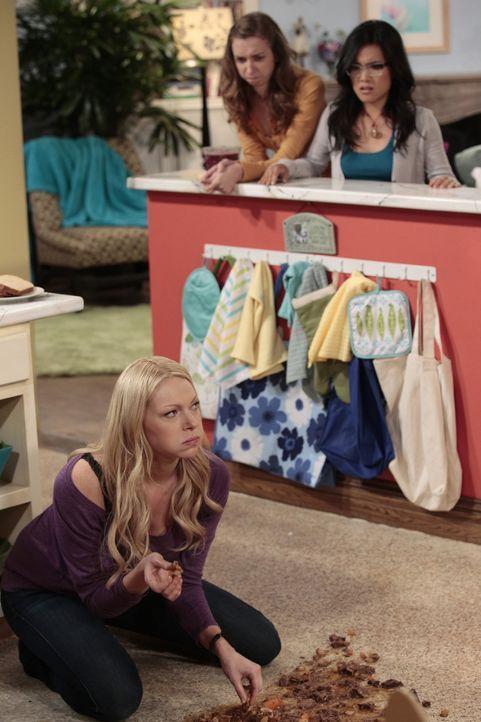 Chelsea (Laura Prepon, l.) und Robert haben leidenschaftlichen Sex, doch schon bald wird die Affäre zu einer Fress-Beziehung, denn Robert liebt es,... - Bildquelle: Warner Bros. Television