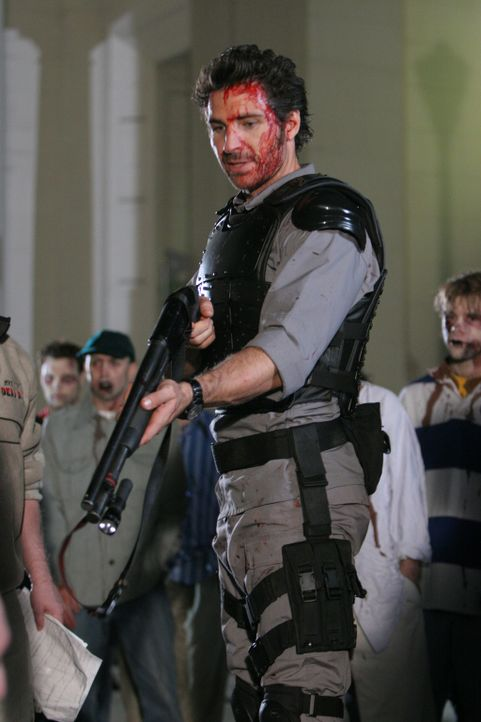 "Hinter den Kulissen von ""House of the Dead II"": Ellis (Ed Quinn) - Bildquelle: Sony Pictures Television International. All Rights Reserved."