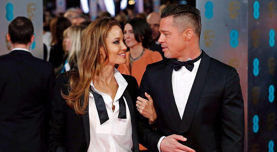 BAFTA-Angelina-Jolie-Brad-Pitt-14-02-16-AFP - Bildquelle: AFP