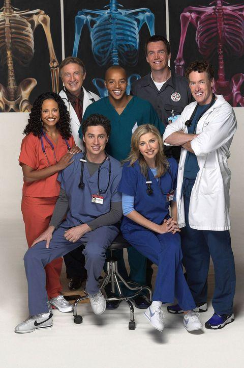 """(3. Staffel) - Nach Jordans peinlicher Enthüllung sämtlicher """"Vergehen"""" der Belegschaft beginnt ein neues aufreibendes Jahr am Sacred Heart Hospital... - Bildquelle: Touchstone Television"""