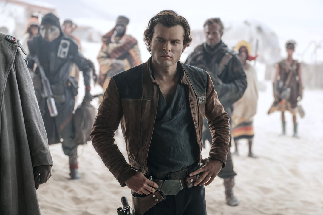 Han Solo (Alden Ehrenreich) - Bildquelle: Jonathan Olley & TM Lucasfilm Ltd. 2018 / Jonathan Olley