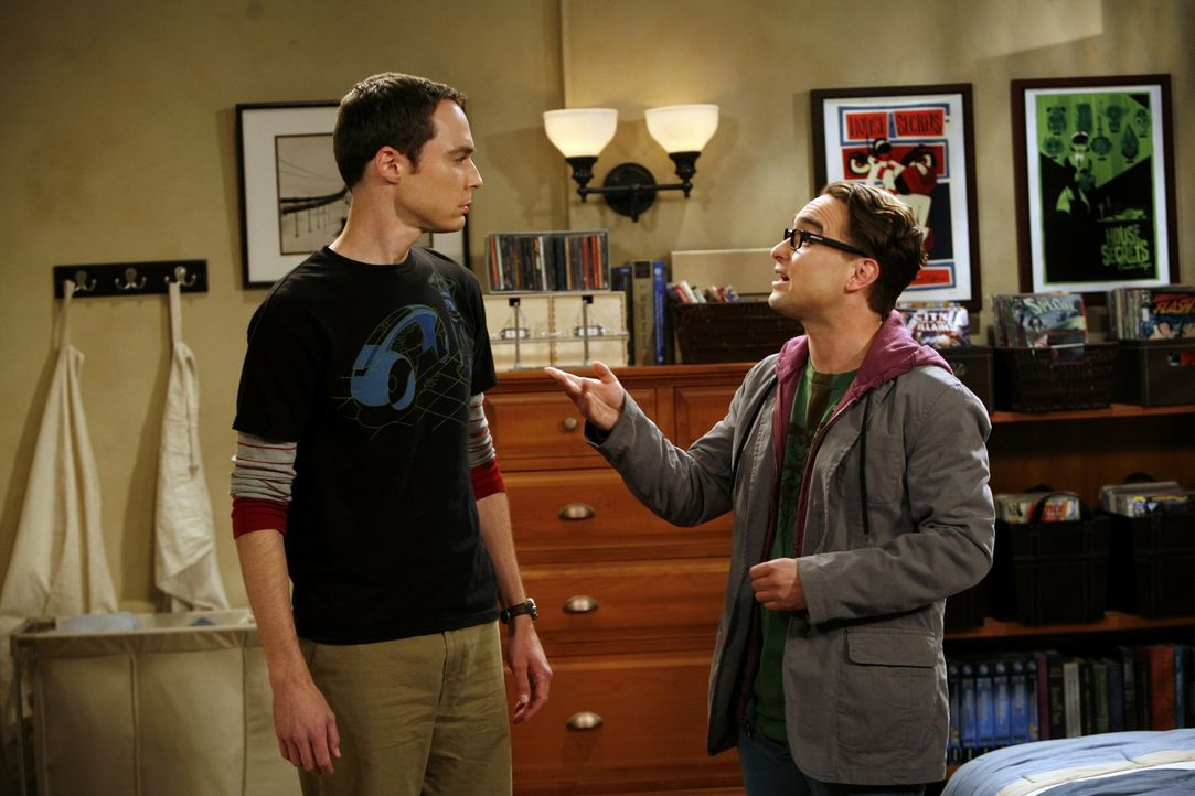 Sheldon Cooper (Jim Parsons, l.); Leonard Hofstadter (Johnny Galecki, r.) - Bildquelle: Sonja Flemming 2008 CBS Broadcasting Inc. All Rights Reserved. / Sonja Flemming