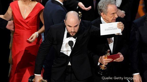Die größte Oscar-Panne aller Zeiten