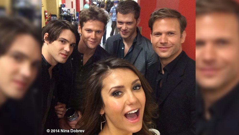 Vampire Diaries Star Nina Dobrev Vier Neue Freunde Nach Ian
