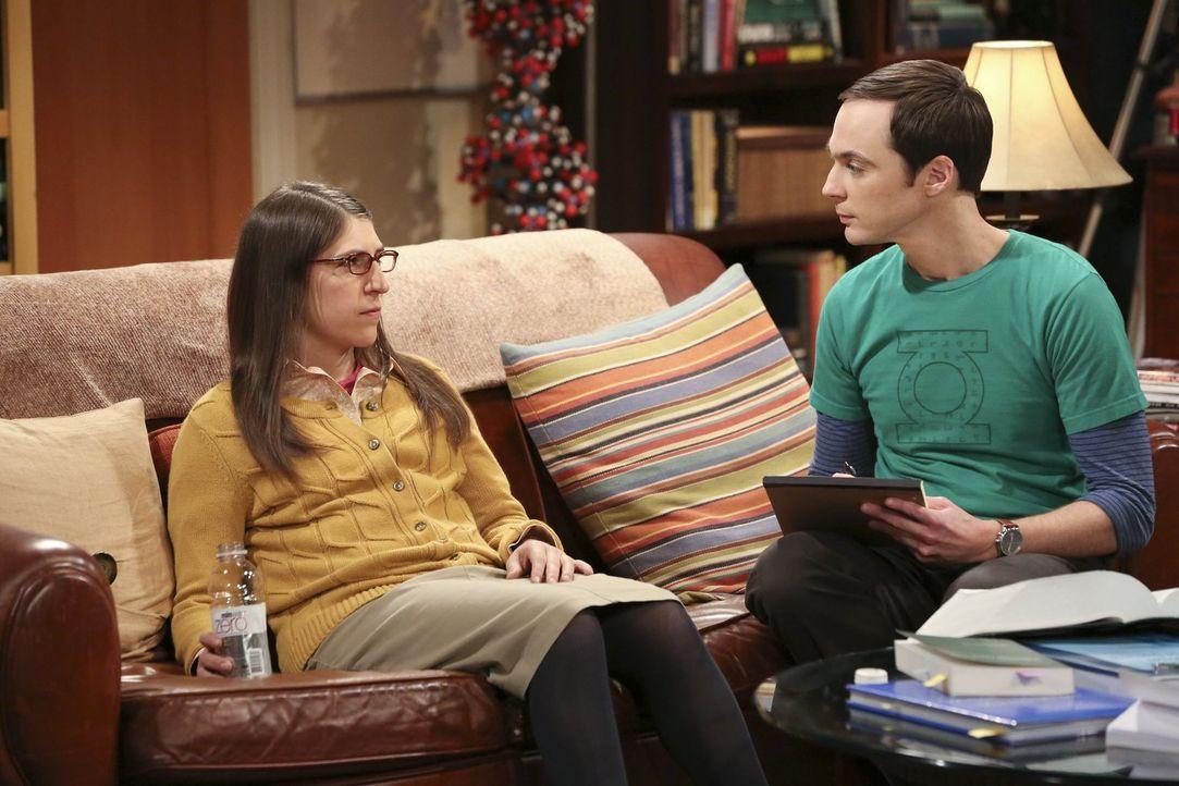 Mit Erschrecken muss Sheldon (Jim Parsons, r.) feststellen, dass seine Freunde ihn ganz und gar nicht witzig finden. Plötzlich ist er Feuer und Flam... - Bildquelle: Warner Brothers