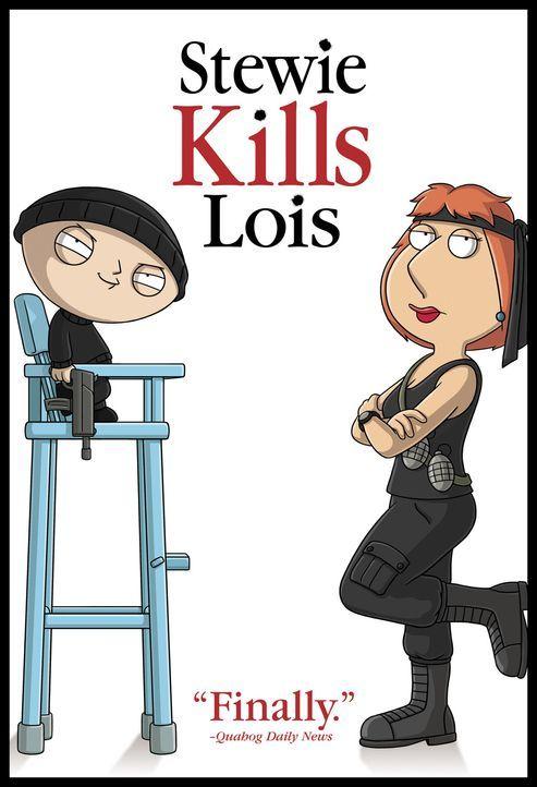 Stewie (l.) ist mal wieder schwer enttäuscht von seiner Rabenmutter Lois (r.) und er schmiedet einen hinterlistigen Plan ... - Bildquelle: TM +   Twentieth Century Fox Film Corporation. All Rights Reserved.