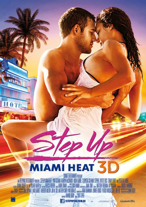 STEP UP: MIAMI HEAT - Plakatmotiv - Bildquelle: Constantin Film