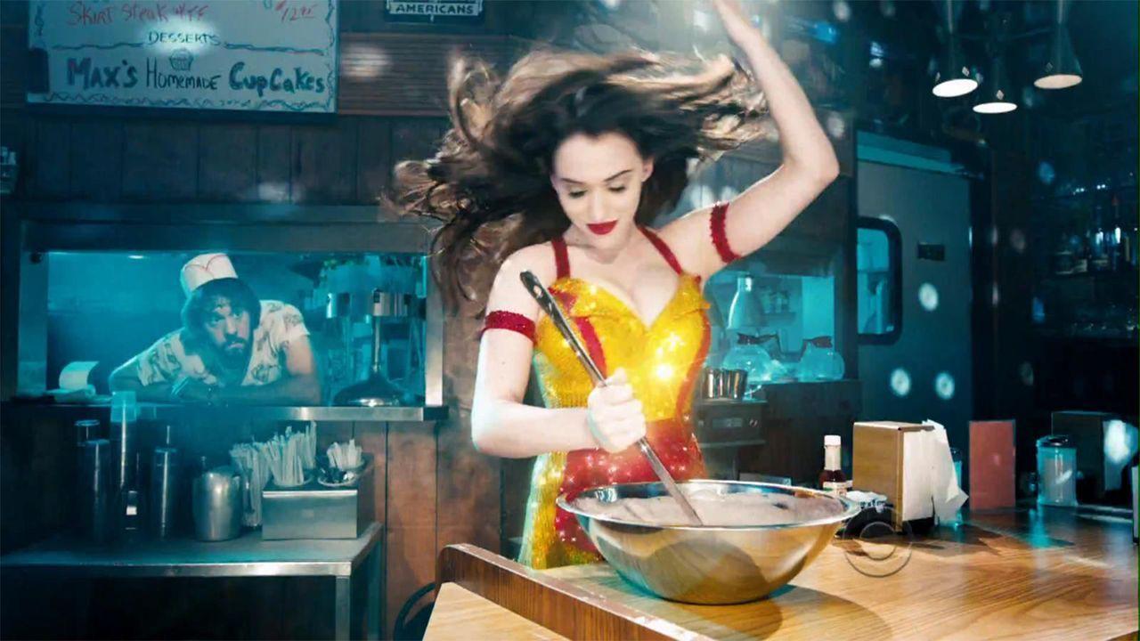 bild-2-broke-girls-super-bowl-sexy-strip-poledance-kat-dennings-beth-behrs-12-cbsjpg 1600 x 900 - Bildquelle: CBS