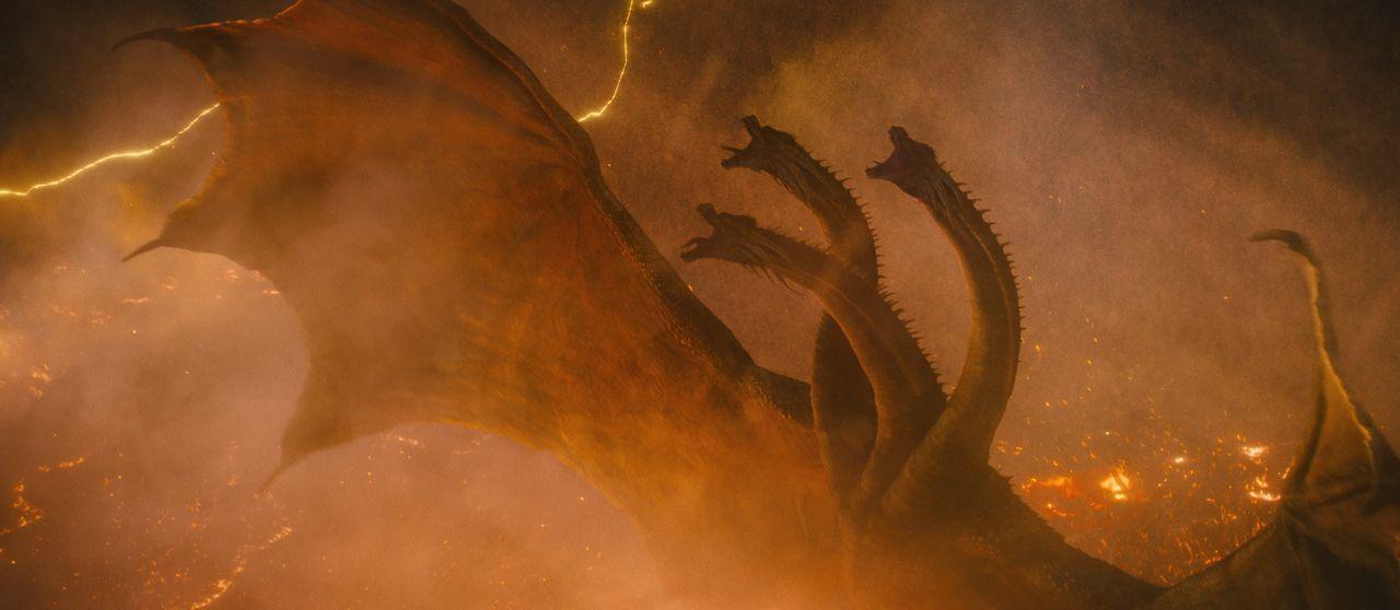 King Ghidorah - Bildquelle: 2019 Legendary and Warner Bros. Entertainment Inc. All Rights Reserved. GODZILLA TM & © TOHO Co., Ltd.