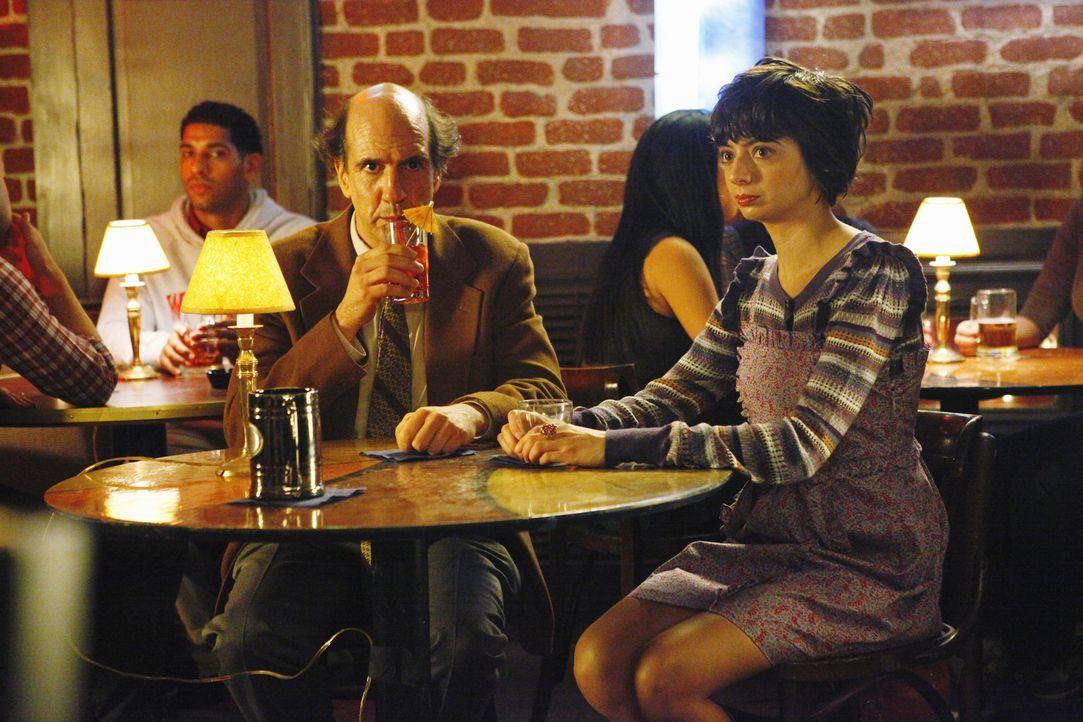 Wollen gemeinsam durch Amerika zu reisen: Ted (Sam Lloyd, l.) und Gooch (Kate Micucci, r.) ... - Bildquelle: Touchstone Television