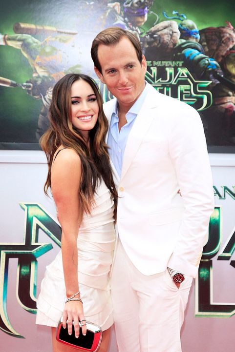 Teenage-Mutant-Ninja-Turtles-Megan-Fox-Will-Arnett-14-08-03-dpa - Bildquelle: dpa