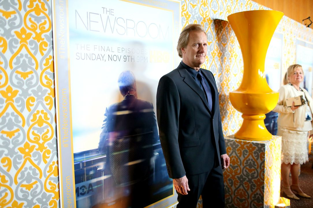 Jeff-Daniels-Newsroom-141104-getty-AFP - Bildquelle: getty-AFP