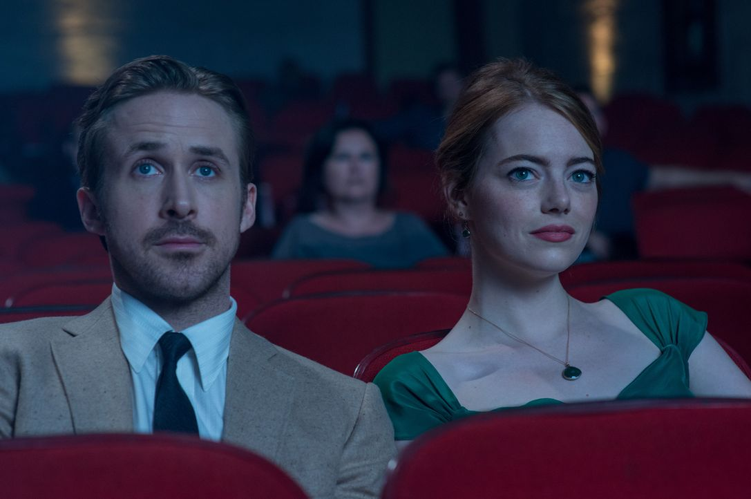Sebastian (Ryan Gosling, l.); Mia (Emma Stone, r.) - Bildquelle: 2016 Summit Entertainment, LLC. All Rights Reserved.