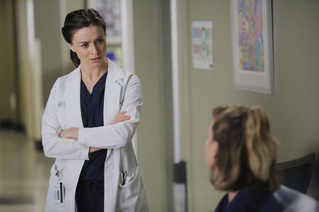 Müssen sich nicht nur um das Leben ihrer Patienten kümmern, sondern müssen auch ihre privaten Problem lösen: Meredith (Ellen Pompeo, r.) und Amelia... - Bildquelle: Tony Rivetti ABC Studios
