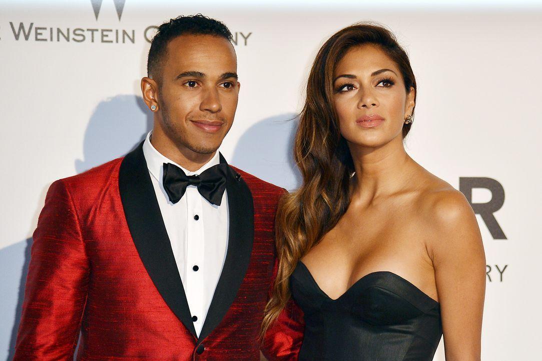 Cannes-Filmfestival-Lewis-Hamilton-Nicole-Scherzinger-140522-AFP - Bildquelle: AFP